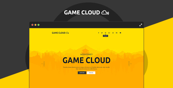 Game Cloud - Muse Template            TFx
