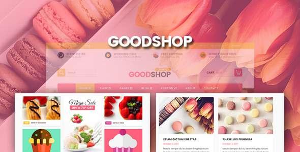 Good Shop | Psd Template            TFx