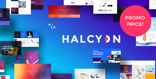 Halcyon - Multipurpose Modern Website HTML5 & CSS3 Template            TFx