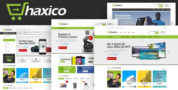 Haxico - Technology Responsive Magento Theme            TFx