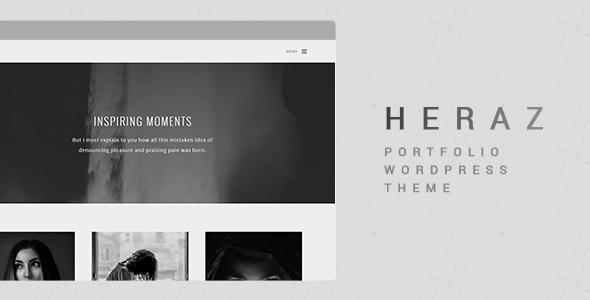 Heraz - Creative Portfolio WordPress Theme            TFx