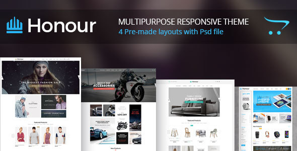 Honour - Multipurpose Responsive Opencart Theme | Fashion Furniture Auto & Electronics            TFx