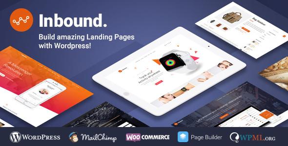 Inbound WordPress Landing Page Theme            TFx