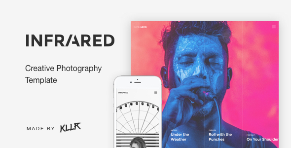Infrared – Creative Photography Template            TFx