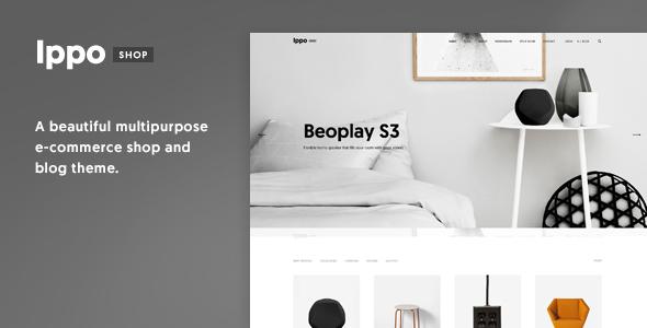 Ippo Shop - Minimal E-commerce WordPress Theme            TFx