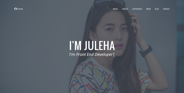 Juleha - One Page Resume Template            TFx