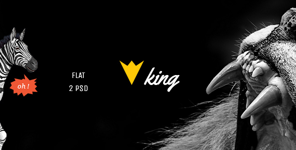KING - Personal Blog Template            TFx
