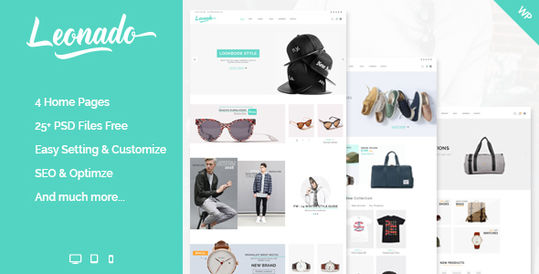 Leonado - Multi-Concepts WooCommerce WordPress Theme            TFx