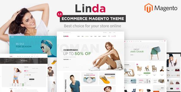 Linda – Multi Store Responsive Magento 2  Themes            TFx