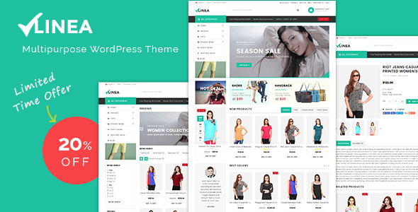 Linea – Fashion WooCommerce Theme            TFx