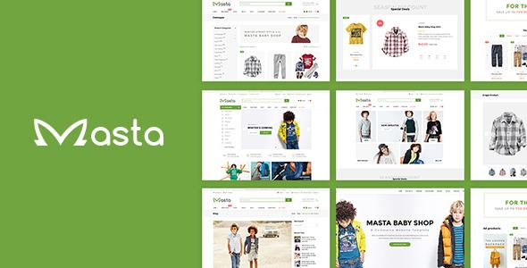 Masta - Responsive Opencart Theme            TFx