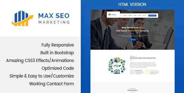 Max Seo - Seo & Marketing HTML Template            TFx