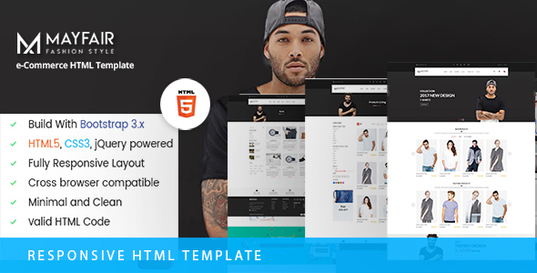 MayFair – eCommerce Fashion Template            TFx
