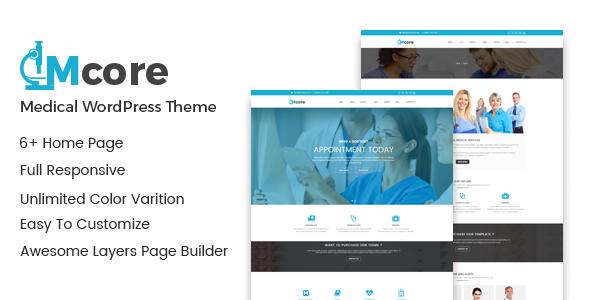 Medicore - Medical WordPress Theme            TFx