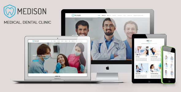Medison – Medical, Dental Clinic HTML Template            TFx