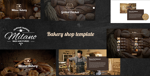 Milano – Stunning WordPress Theme for Bakeries, Coffee Shops & Food Restaurants            TFx