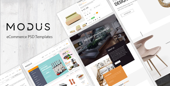 Modus – eCommerce PSD Template            TFx