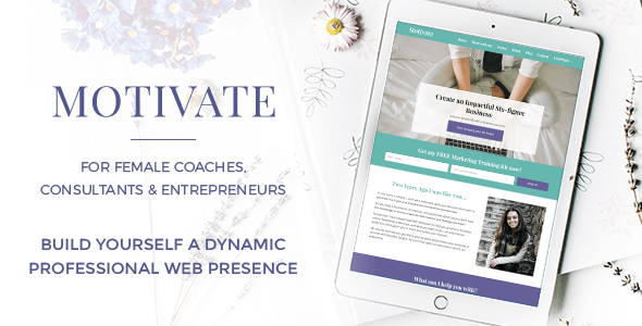 Motivate - For Female Coaches, Consultants & Entrepreneurs            TFx