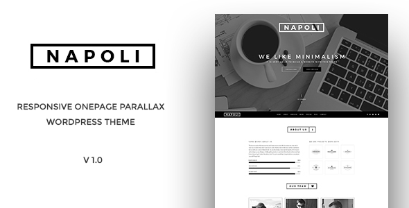 Napoli - One Page Parallax WordPress Themes            TFx