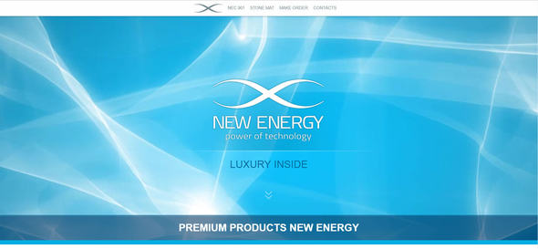 Newenrgy Luxury | Landing HTML TEMPLATE            TFx