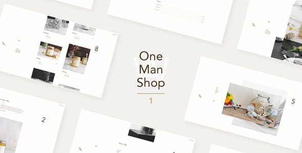 OneManShop One - WordPress WooCommerce Theme For Small Personal Shops            TFx