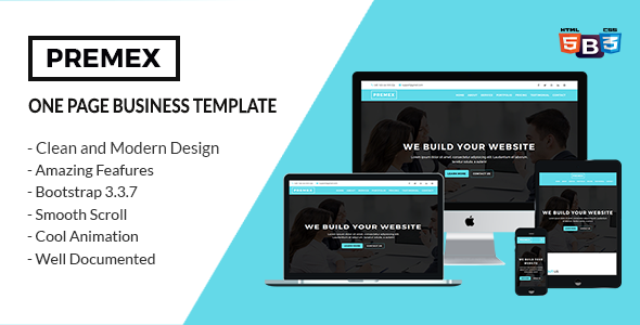 PREMEX - One Page Business Template            TFx