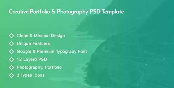Photography Creative PSD Template            TFx