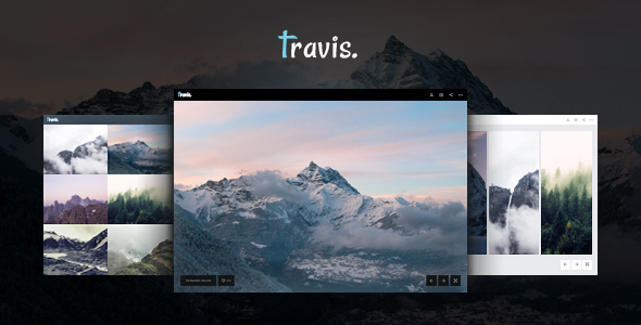 Photography and Gallery - Travis Photo HTML            TFx