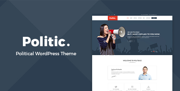 Politic – Political WordPress Theme            TFx