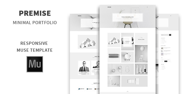 Premise - Minimal Portfolio Muse Template            TFx