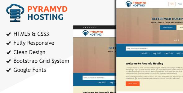 Pyramyd Hosting - Responsive Web Hosting HTML Template            TFx