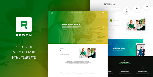 REWON - Multipurpose HTML Template            TFx