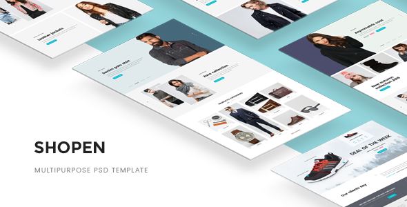 Shopen — Multipurpose PSD Template            TFx