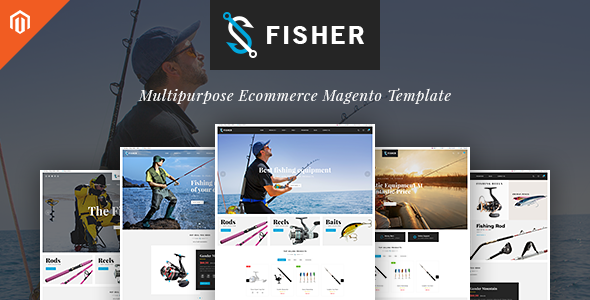 TV Fisher - MultiStore  Responsive Magento 2 Themes            TFx