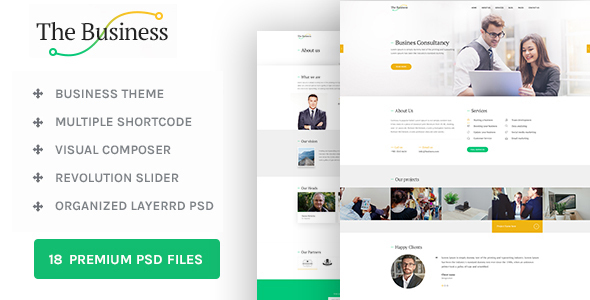 The Business - WP Business & Corporate Theme            TFx