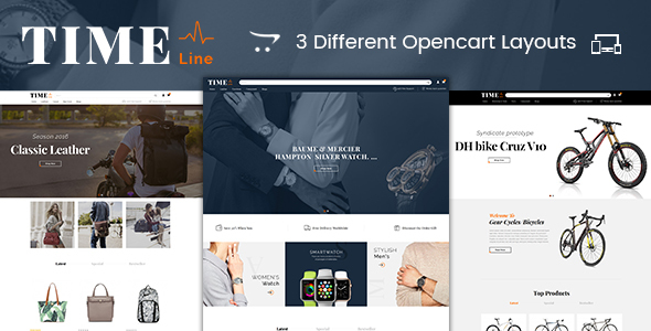 Time Line - Multipurpose OpenCart Theme            TFx