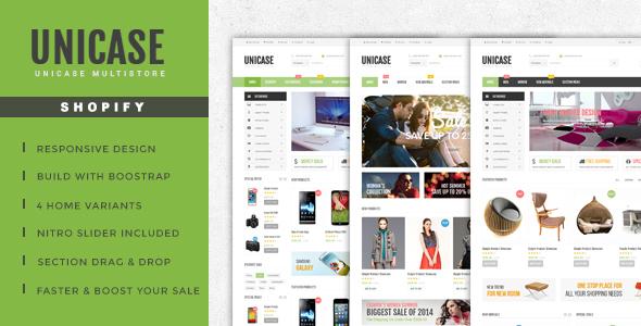 Unicase – Electronics Store Shopify Theme            TFx