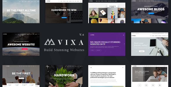 Vixa - Creative Multi-Purpose WordPress Theme            TFx