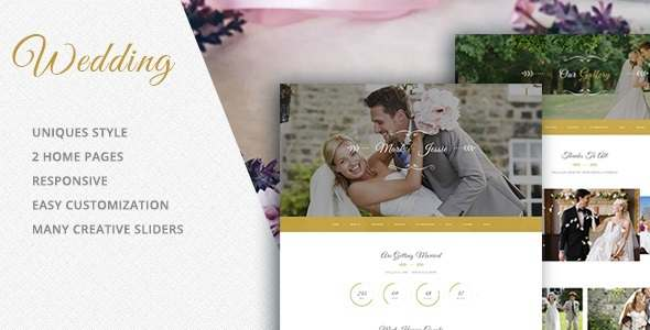 Wedding Photography HTML Template            TFx
