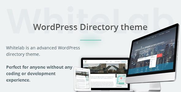 WhiteLab - WordPress Directory Theme            TFx