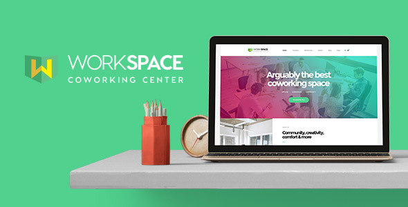 Workspace - Creative Office Space WordPress Theme            TFx