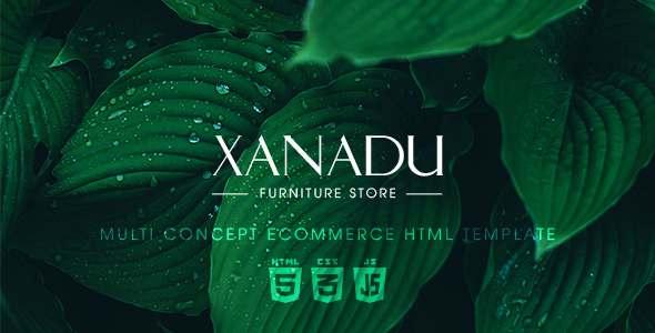 Xanadu – Multi Concept eCommerce HTML Template            TFx