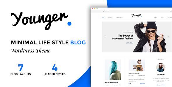 Younger Blogger - Personal Blog Theme            TFx