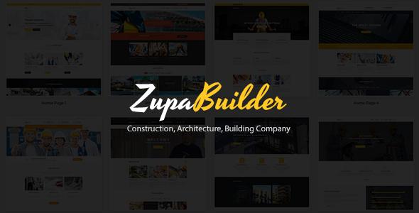 ZupaBuilder - Construction, Architecture, Building Company            TFx