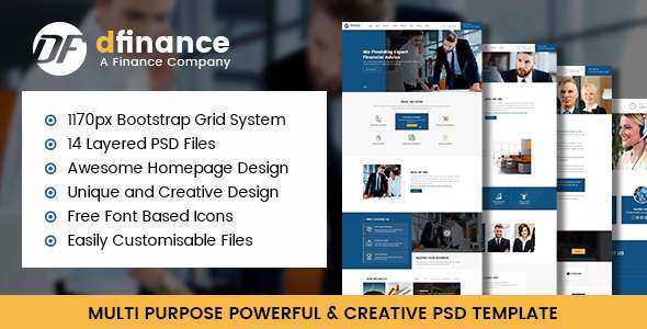 dFinace- Multipurpose PSD Template            TFx