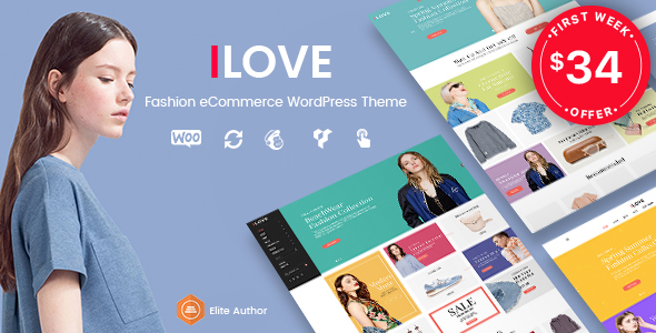 iLove - Creative Fashion WooCommerce WordPress Theme            TFx