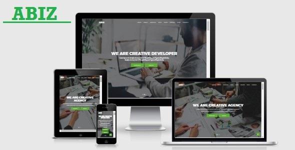 Abiz - Onepage Business Template            TFx