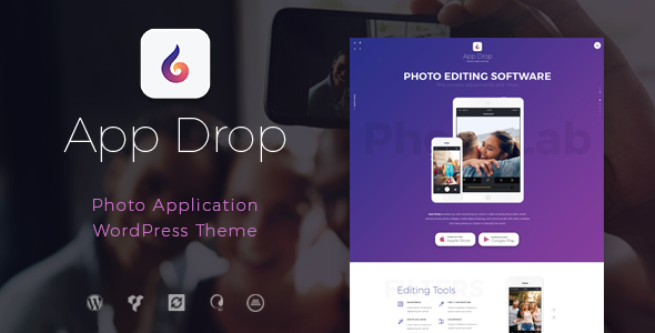 App Drop | Photo Editing Application            TFx