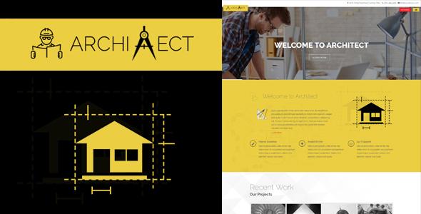 Architect - Responsive Architecture WordPress Theme            TFx