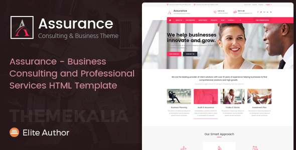 Assurance - Business, Consulting and Professional Services HTML Template            TFx